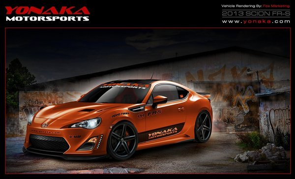 scion fr-s by fox marketing and yonaka motorsports picture