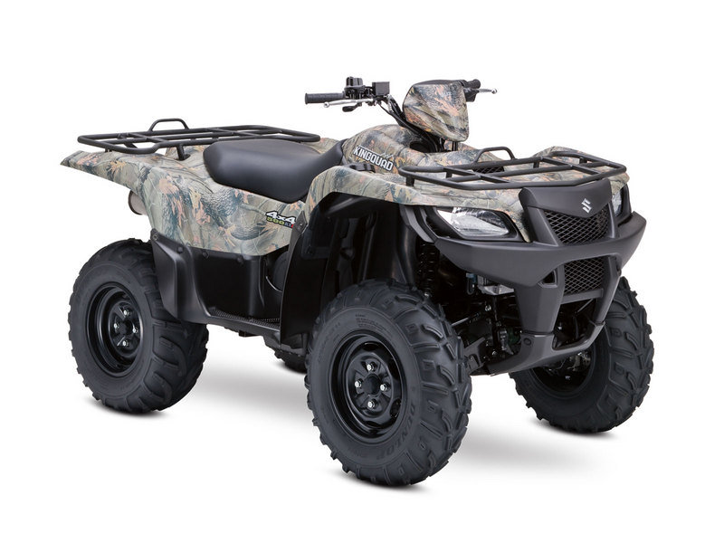 2012 Suzuki KingQuad 500AXi Power Steering Camo