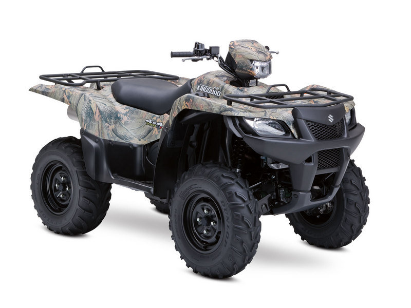 2012 Suzuki KingQuad 750AXi Power Steering Camo