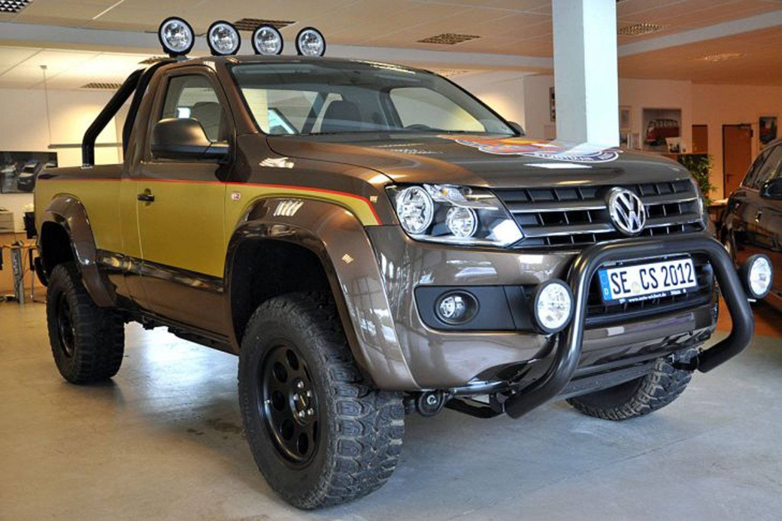 2012 volkswagen amarok colt seaver edition review top speed. Black Bedroom Furniture Sets. Home Design Ideas