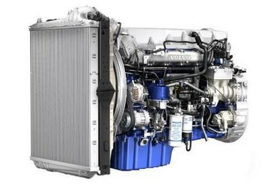 Volvo Trucks revealed its new Euro 6 engine