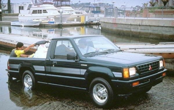 1986 1996 Mitsubishi Mighty Max Truck Review Top Speed