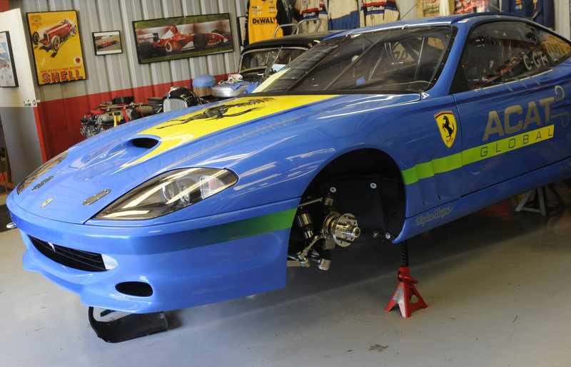 2004 ACAT Global Ferrari 575 by JBR Motorsports