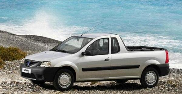 2008 dacia logan pick up truck review top speed. Black Bedroom Furniture Sets. Home Design Ideas