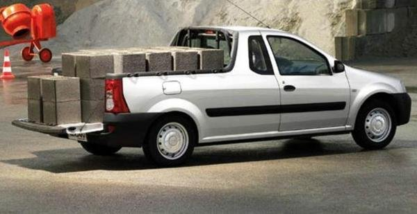 Toyota Pickup 4x4 >> 2008 Dacia Logan Pick-up - Picture 470512 | truck review @ Top Speed