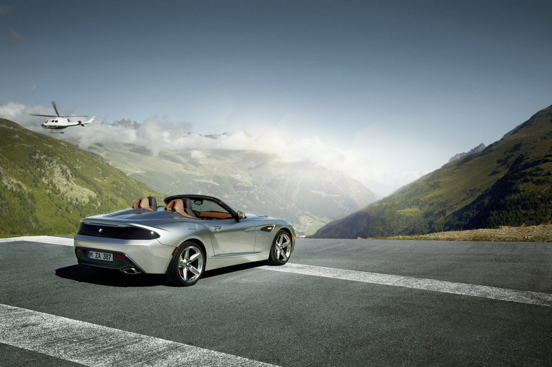 2012 BMW Zagato Roadster High Resolution Exterior Wallpaper quality - image 469483
