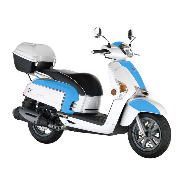 2012 kymco like 200i lx review - top speed