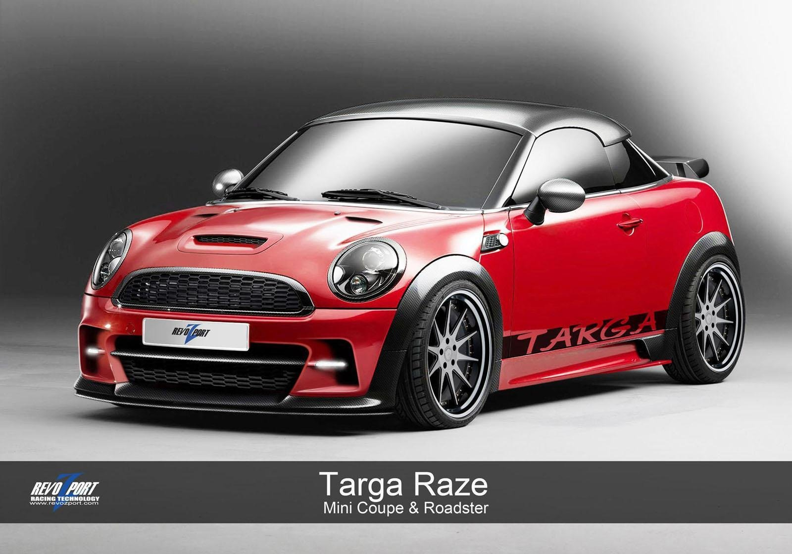2012 mini coupe targa raze by revozport review top speed. Black Bedroom Furniture Sets. Home Design Ideas