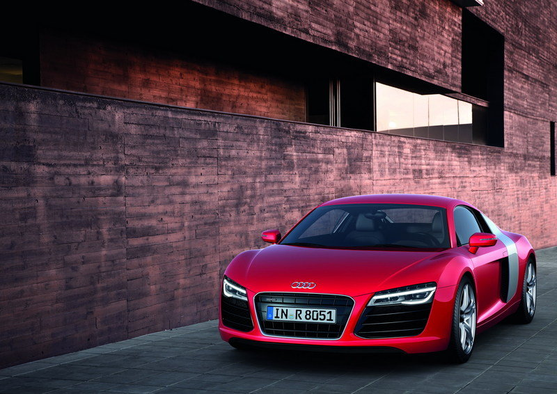 2014 - 2015 Audi R8 V8 Coupe High Resolution Exterior - image 470657