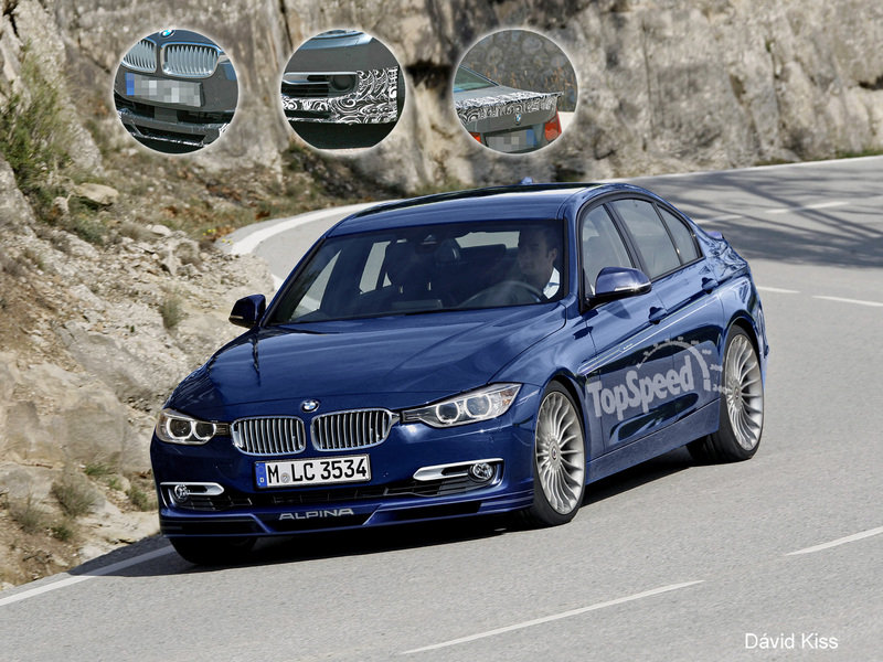2013 BMW 3-Series B3 Bi-Turbo by Alpina