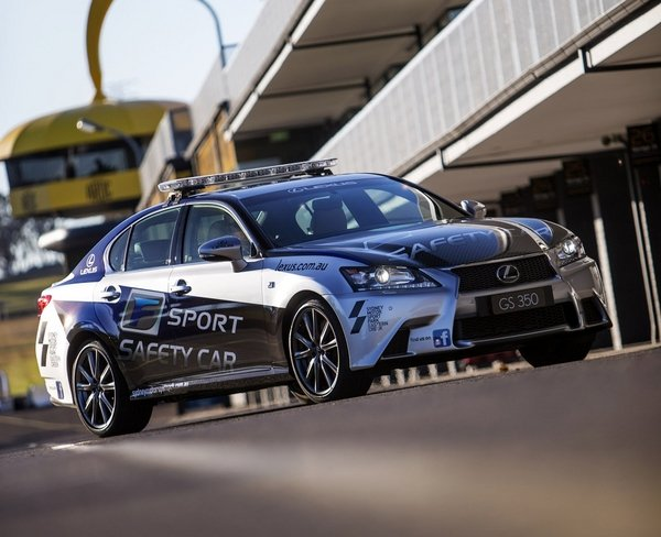 lexus gs 350 f sport safety car picture