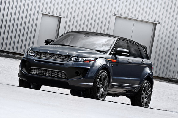 range rover evoque dark tungsten rs250 by kahn design picture