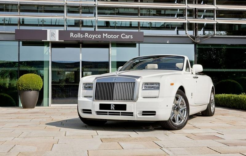 2013 Rolls-Royce Phantom Drophead Coupes Olympic Editions High Resolution Exterior - image 468851
