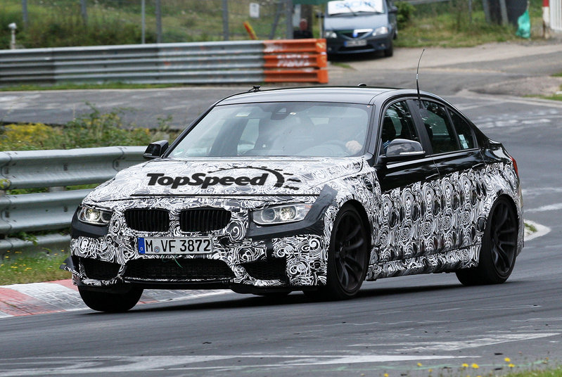 Spy Shots: 2014 BMW M3 Laps the Nurburgring