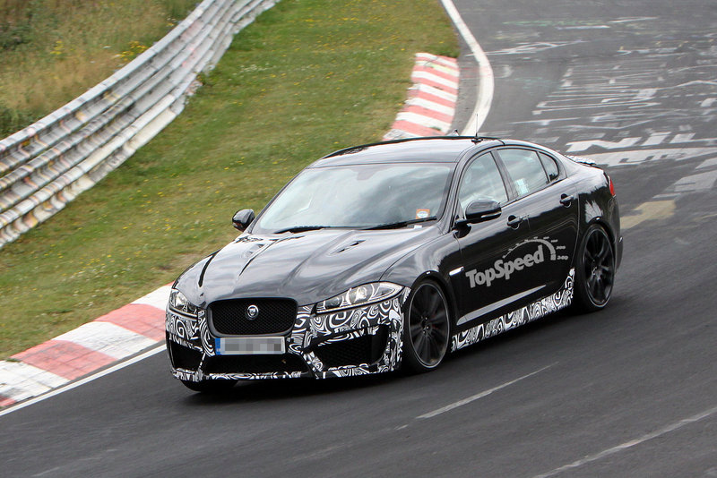 Spy Shots: Production Jaguar XFR-S Spotted for the First Time