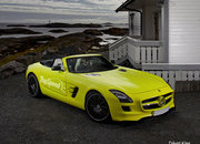 Mercedes Benz SLS AMG E-Cell Roadster
