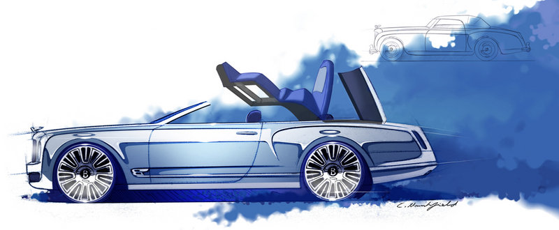 2013 Bentley Mulsanne Vision Concept Exterior Drawings - image 469376