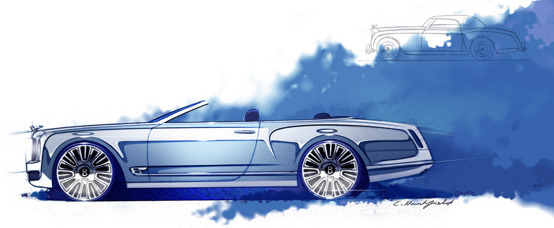 2013 Bentley Mulsanne Vision Concept Exterior Drawings - image 469377