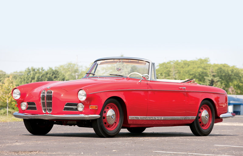 1956 - 1959 BMW 503 Series I Cabriolet