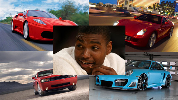Dodge Challenger Convertible >> Car And Athlete: Andrew Bynum May No Longer Be A Laker ...