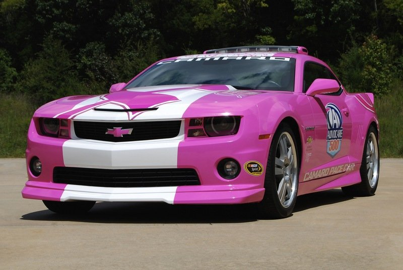"2013 Chevrolet Camaro SS ""Breast Cancer Fight"" Pace Car"