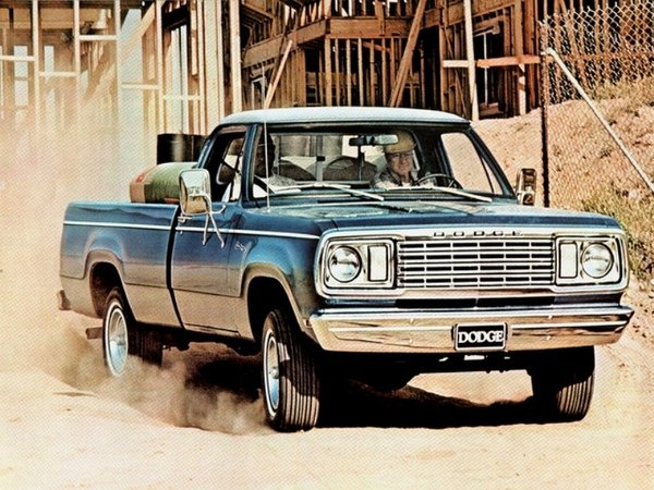 dodge ram d-series picture