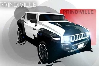 2013 Hummer H3 Electric by Prindiville Exterior - image 470648