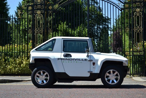 2013 Hummer H3 Electric By Prindiville Review - Top Speed
