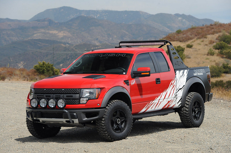 2013 Ford F-150 SVT Raptor by Roush and Greg Biffle