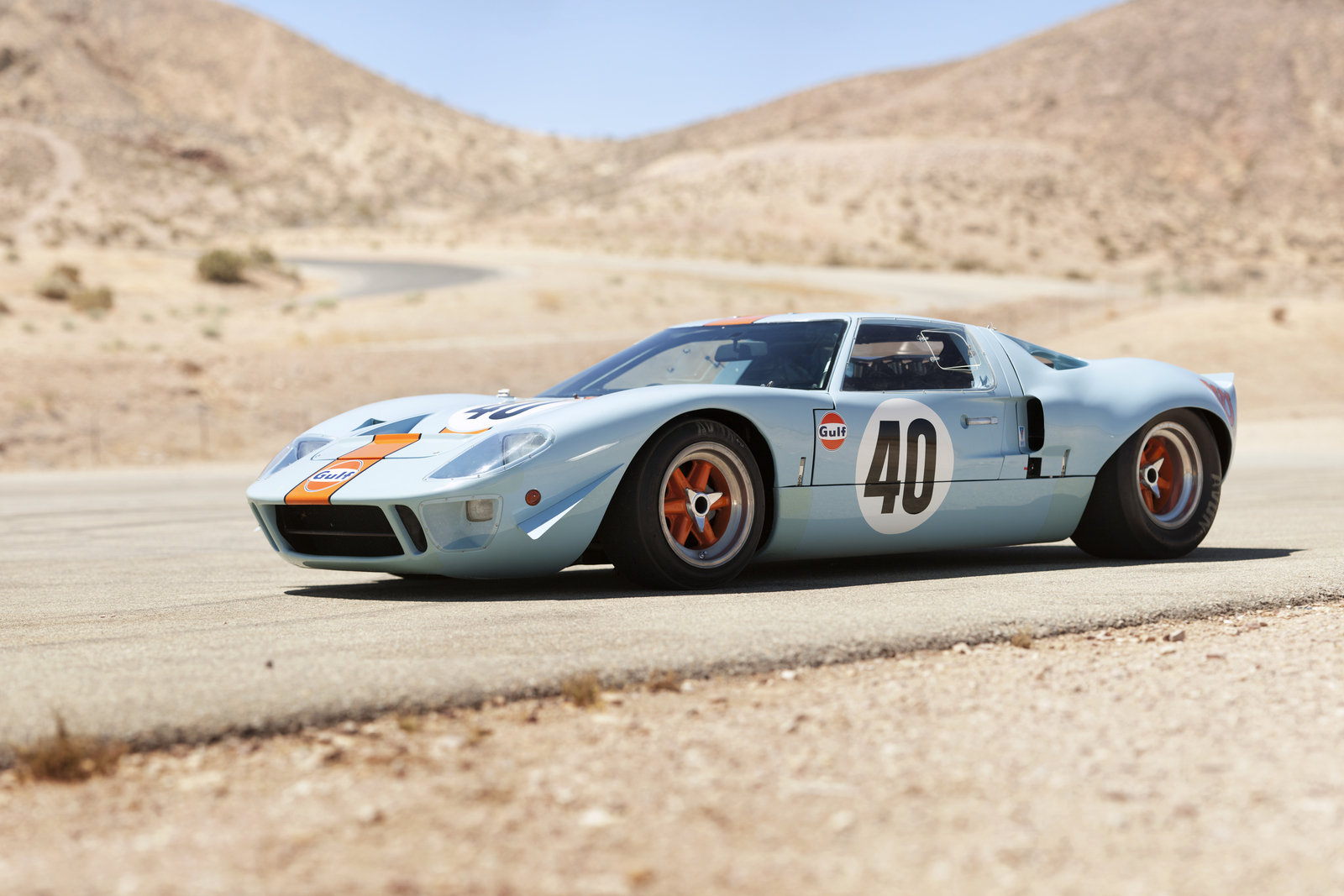 Ford GT40 Restoration - Chassis 1036