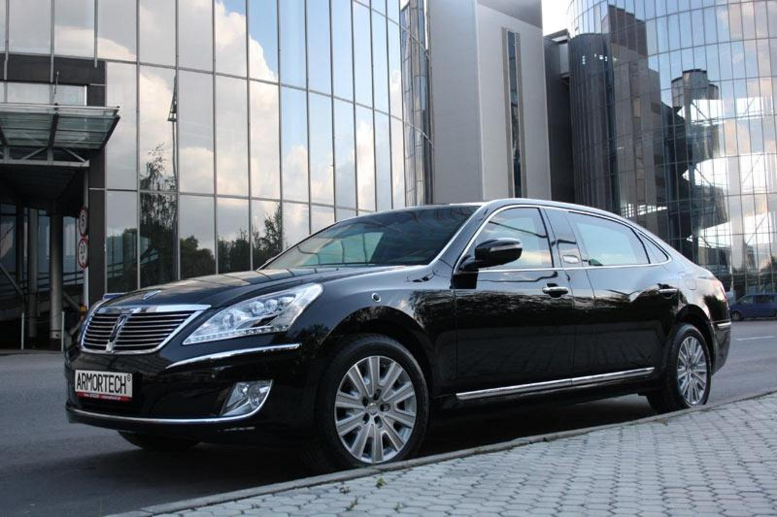 2012 Hyundai Equus Limousine Security Review Top Speed