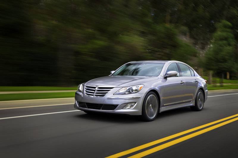 2013 Hyundai Genesis Sedan High Resolution Exterior Wallpaper quality - image 469193