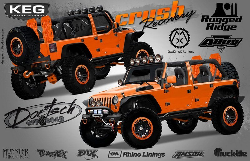 "2012 Jeep Wrangler Unlimited ""Crush Recovery"""
