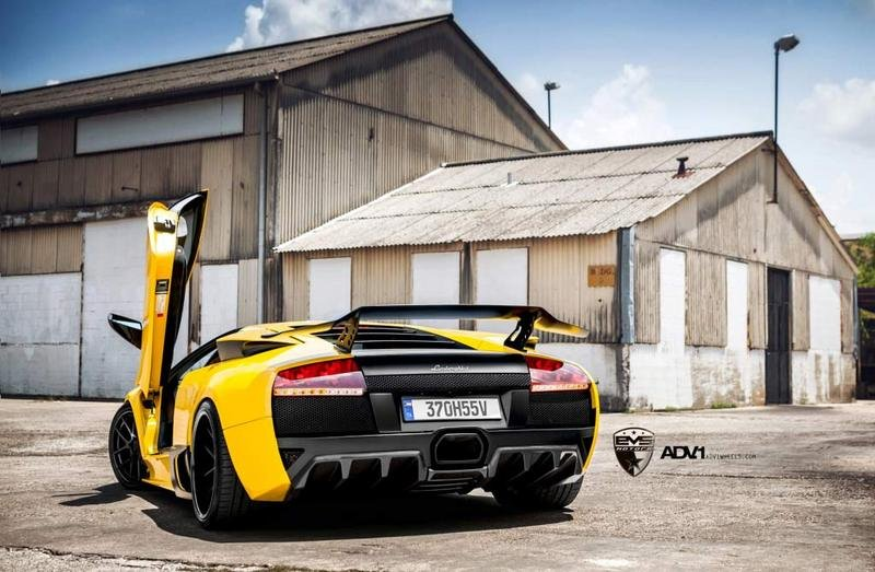 2012 Lamborghini Murcielago by EVS Motors wallpaper image