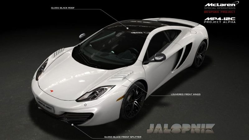 McLaren Special Operations cooking up Project Alpha supercar