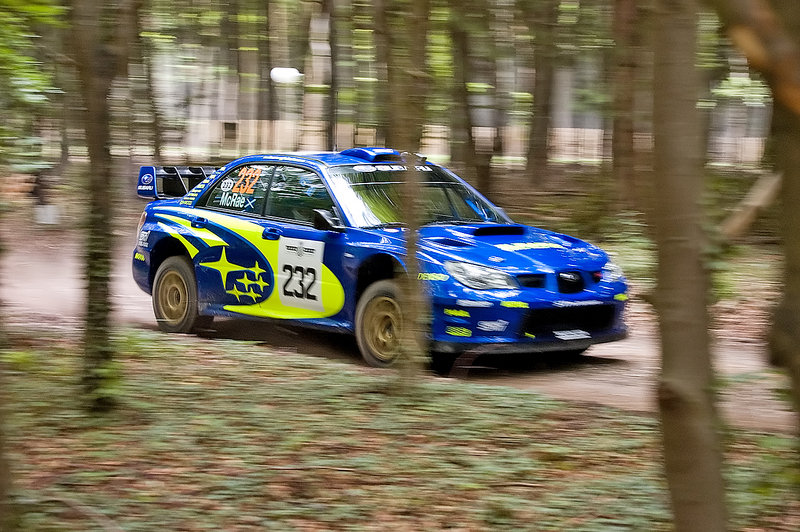 Photo of the Week: Colin McRae and His Subaru WRX at the Goodwood Festival of Speed