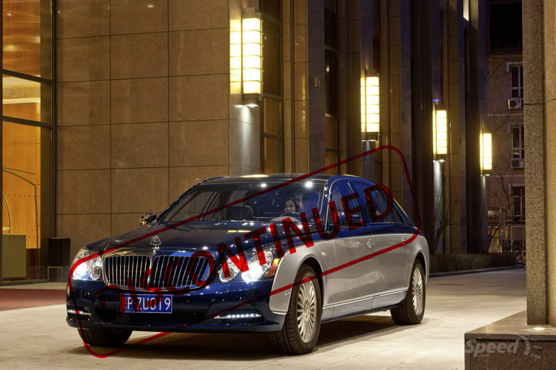 Report: Daimler Pulls the Plug on 2013 Maybach Models