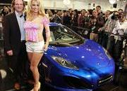 Surprise, Pamela Anderson Visits Gemballa booth at Top Marques 2012 - image 470719