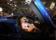 Surprise, Pamela Anderson Visits Gemballa booth at Top Marques 2012 - image 470723