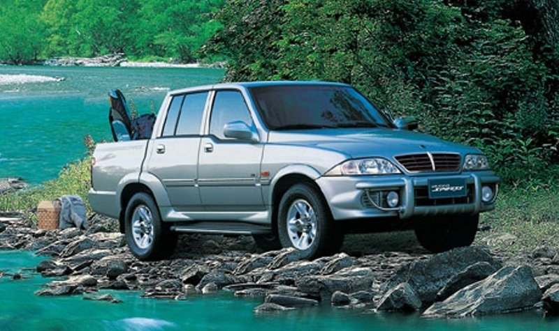 2002 - 2005 SsangYong Musso Pick-up