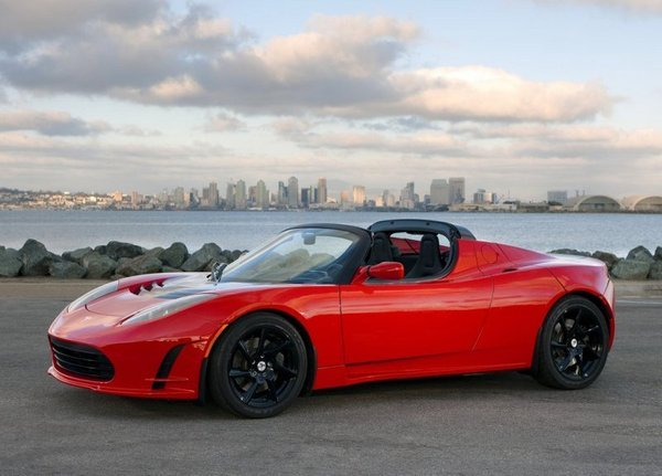 tesla roadster picture