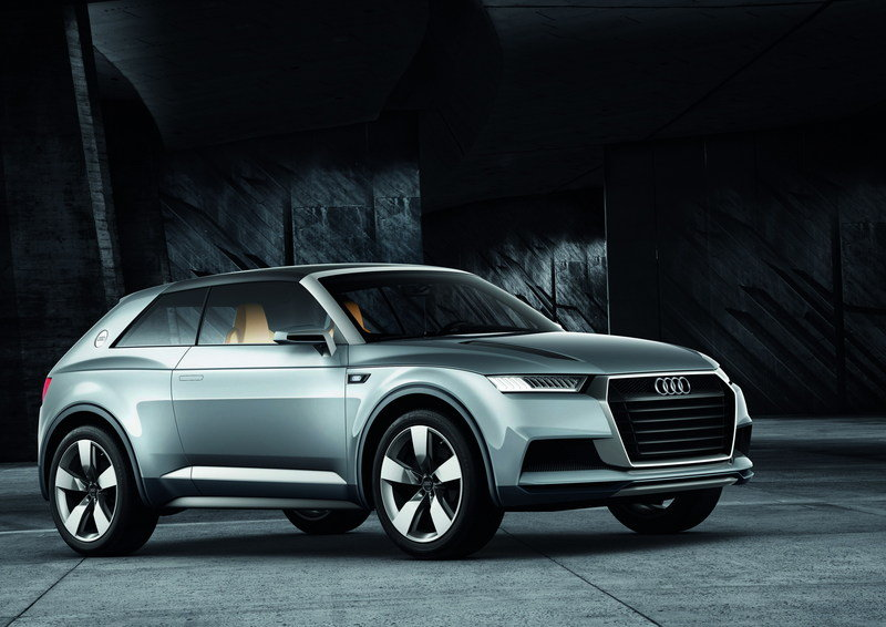 2012 Audi Crosslane Coupe Concept High Resolution Exterior - image 475205