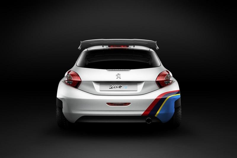 2013 Peugeot 208 T16 (Type R5) Rally Car