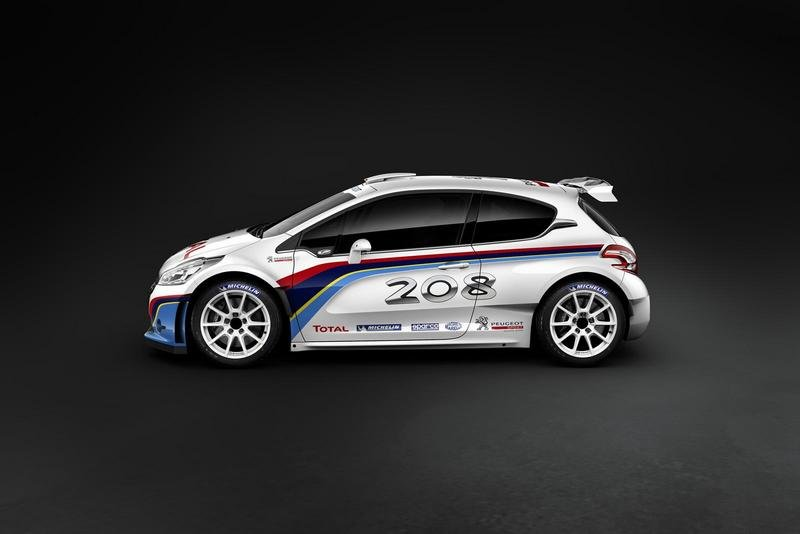 2013 Peugeot 208 T16 (Type R5) Rally Car High Resolution Exterior - image 475718
