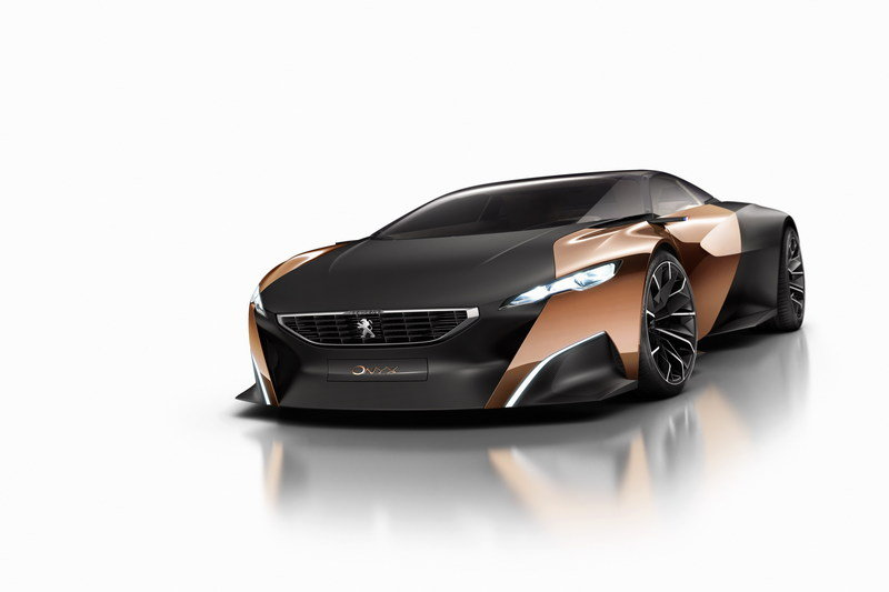 2012 Peugeot Onyx Hybrid Concept High Resolution Exterior - image 473228