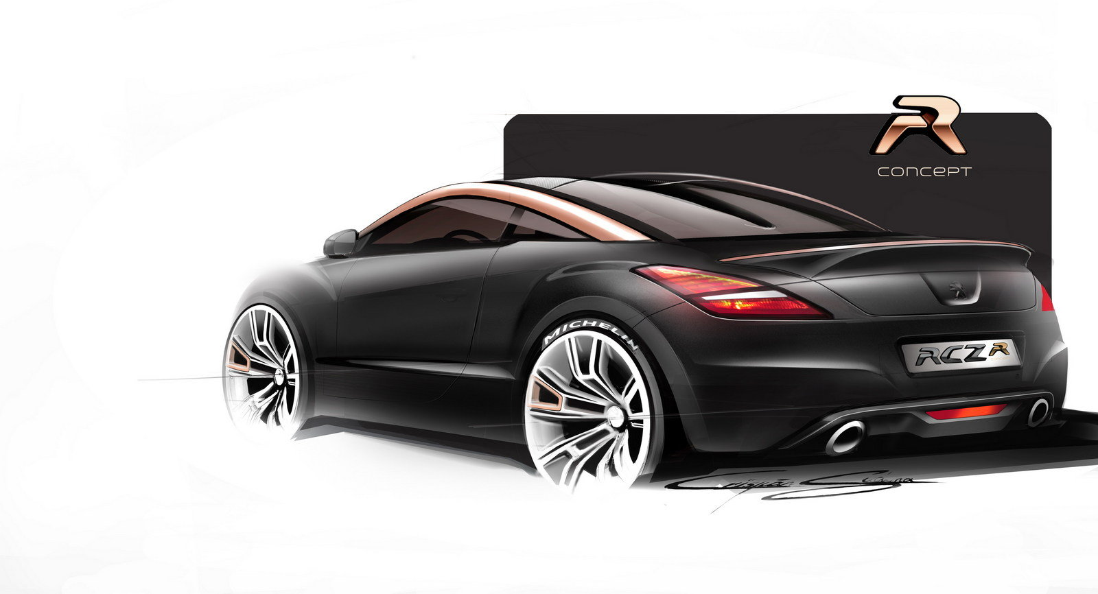 2012 peugeot rcz r concept picture 472917 car review top speed. Black Bedroom Furniture Sets. Home Design Ideas