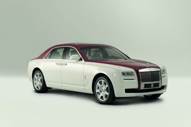 "2012 Rolls-Royce Ghost ""One-Off Qatar"" Edition"