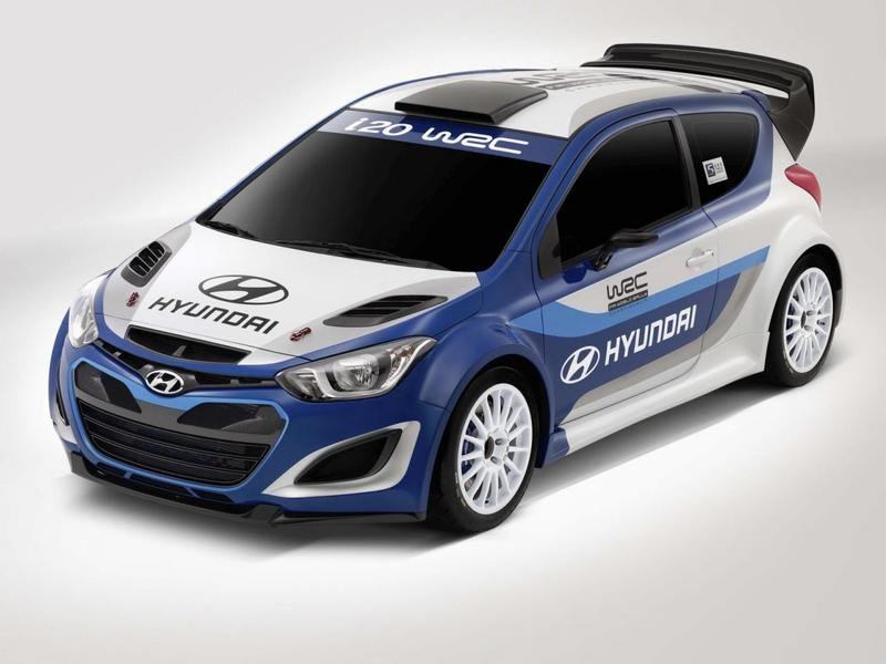 2013 Hyundai i20 World Rally Championship Rally Car