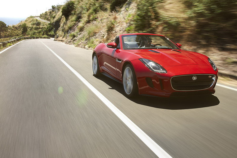 2013 Jaguar F-Type Roadster High Resolution Exterior Wallpaper quality - image 475136