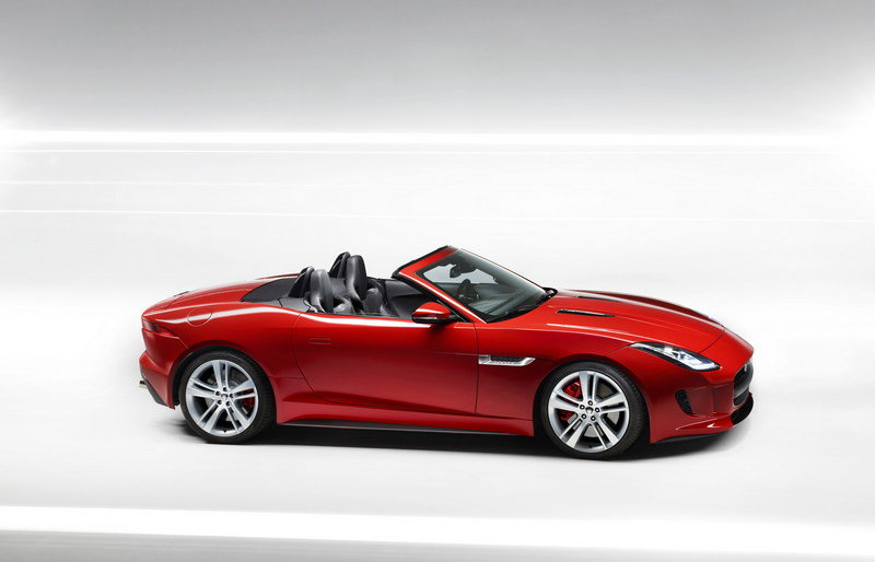 2013 Jaguar F-Type Roadster High Resolution Exterior - image 475128